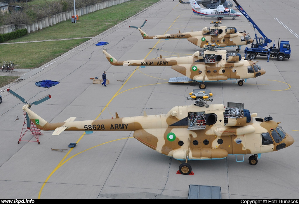 Pakistan Air Force – Mil Mi-17V-5 58628