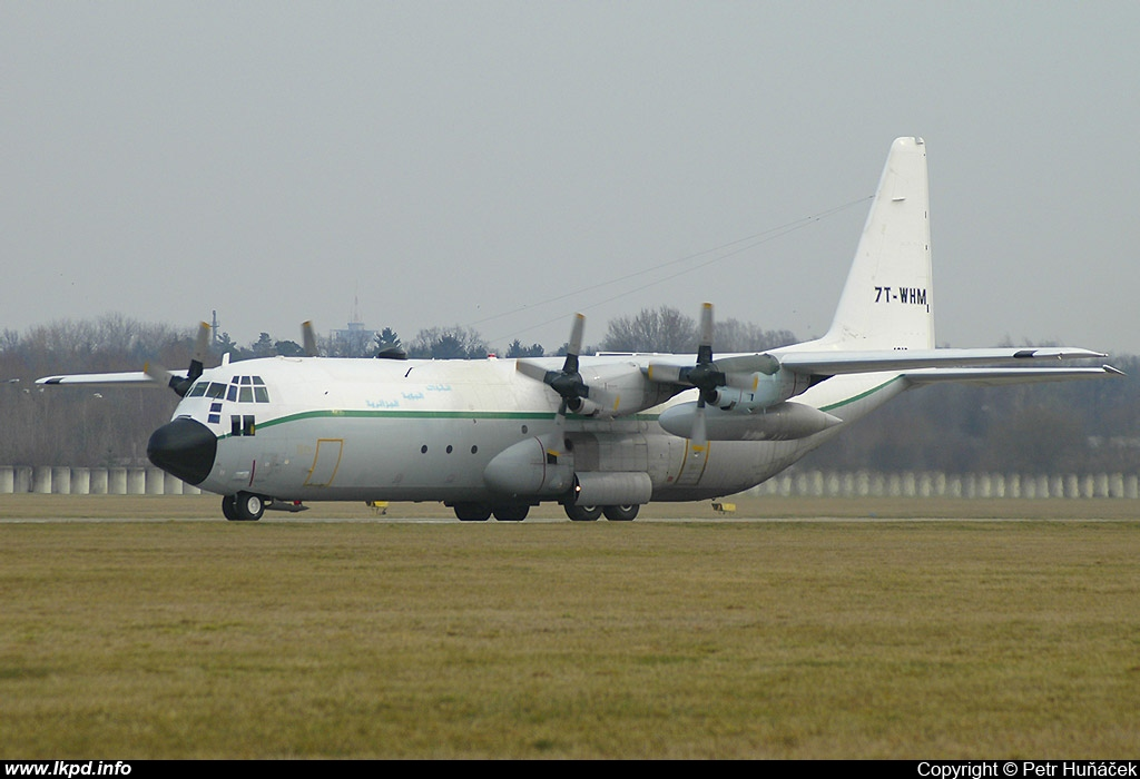 Algeria Air Force – Lockheed C-130H-30 Hercules 7T-WHM