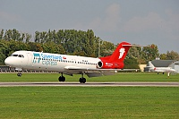 Greenlad Express – Fokker 100 PH-MJP