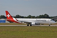 Helvetic Airways – Embraer ERJ-190-100LR HB-JVQ