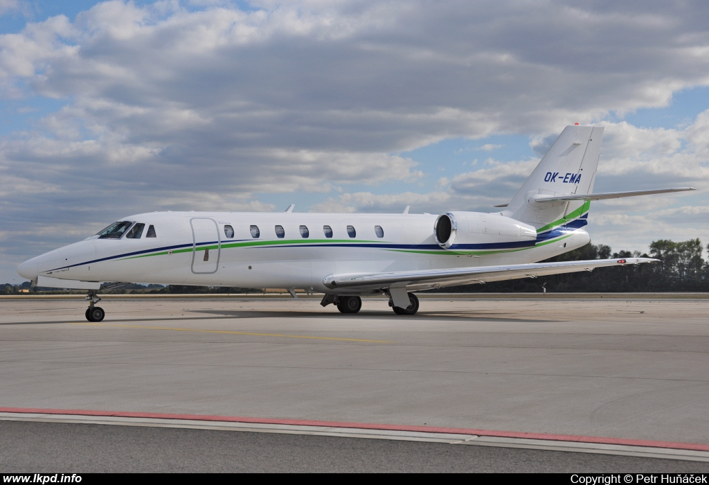 Travel Service – Cessna 680 Citation Sovereign OK-EMA