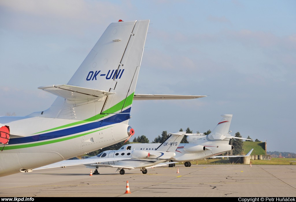 Travel Service – Cessna 680 Citation Sovereign OK-UNI