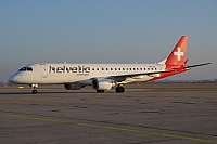 Helvetic Airways – Embraer ERJ-190-100LR HB-JVL