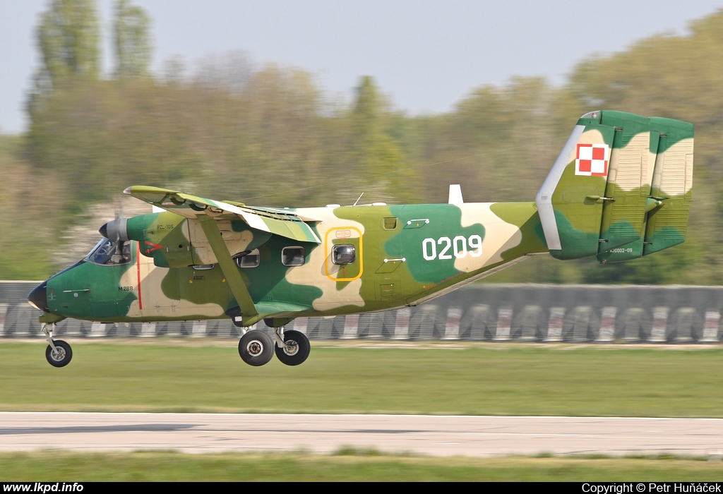 Poland Air Force – PZL - Mielec M-28B1TD Bryza 1TD 0209