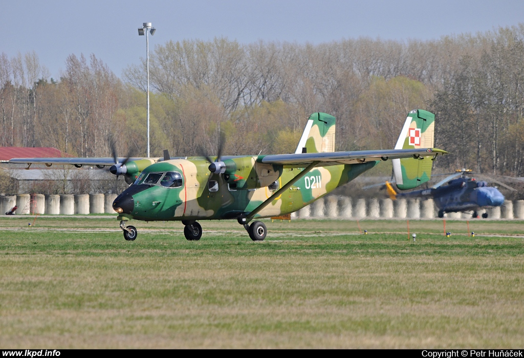 Poland Air Force – PZL - Mielec M-28B1TD Bryza 1TD 0211