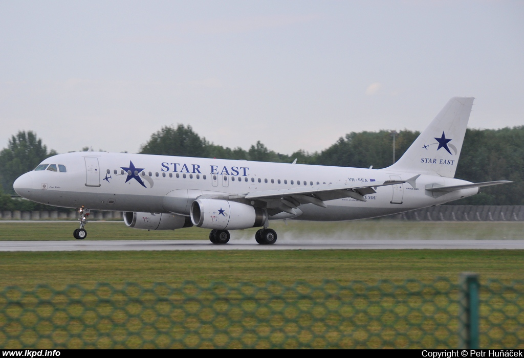 Star East Airlines – Airbus A320-231 YR-SEA