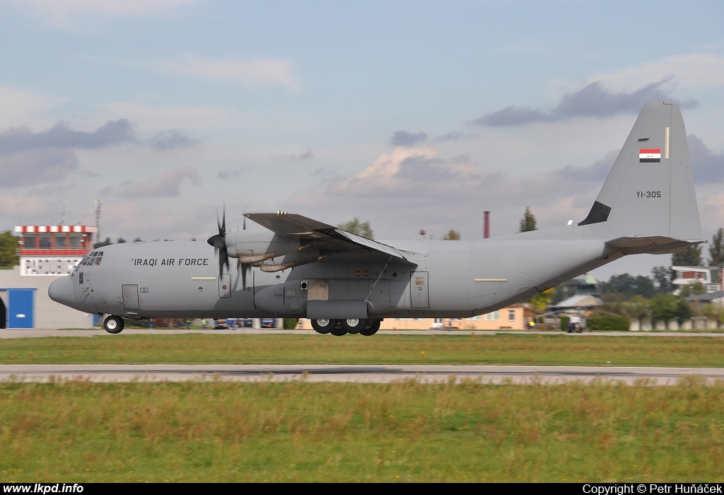 Iraqi Air Force – Lockheed C-130J-30 Hercules YI-305