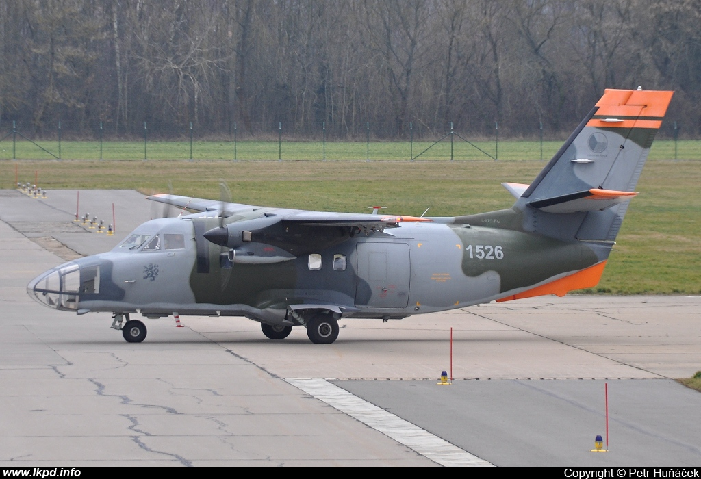 Czech Air Force – Let L410-FG 1526