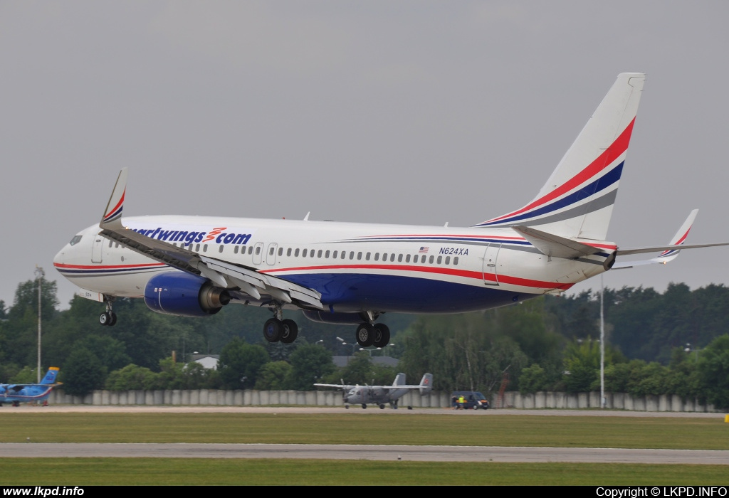 Smart Wings – Boeing B737-86J N624XA