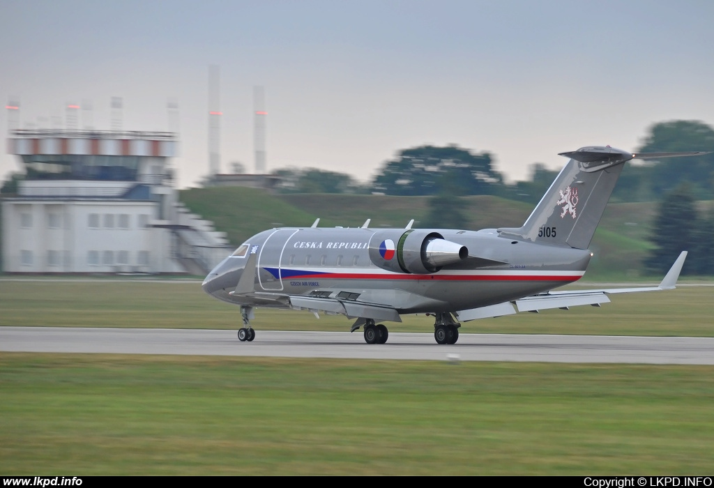 Czech Air Force – Canadair CL-600-2B16 Challenger 601-3A  5105