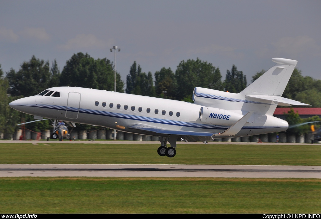 Emerson Flight Operations – Dassault Aviation Falcon 900EX N8100E