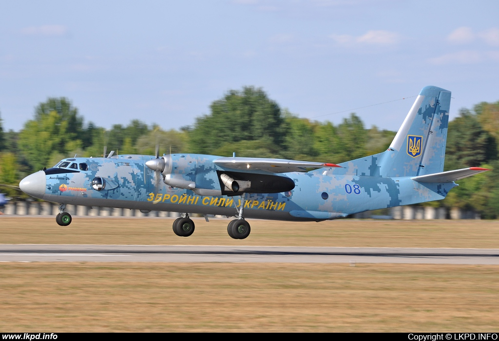 Ukraine Air Force – Antonov AN-26 08
