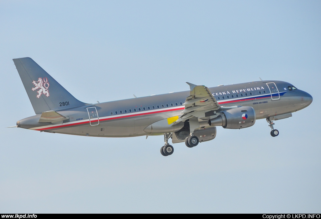 Czech Air Force – Airbus A319-115 (CJ) 2801