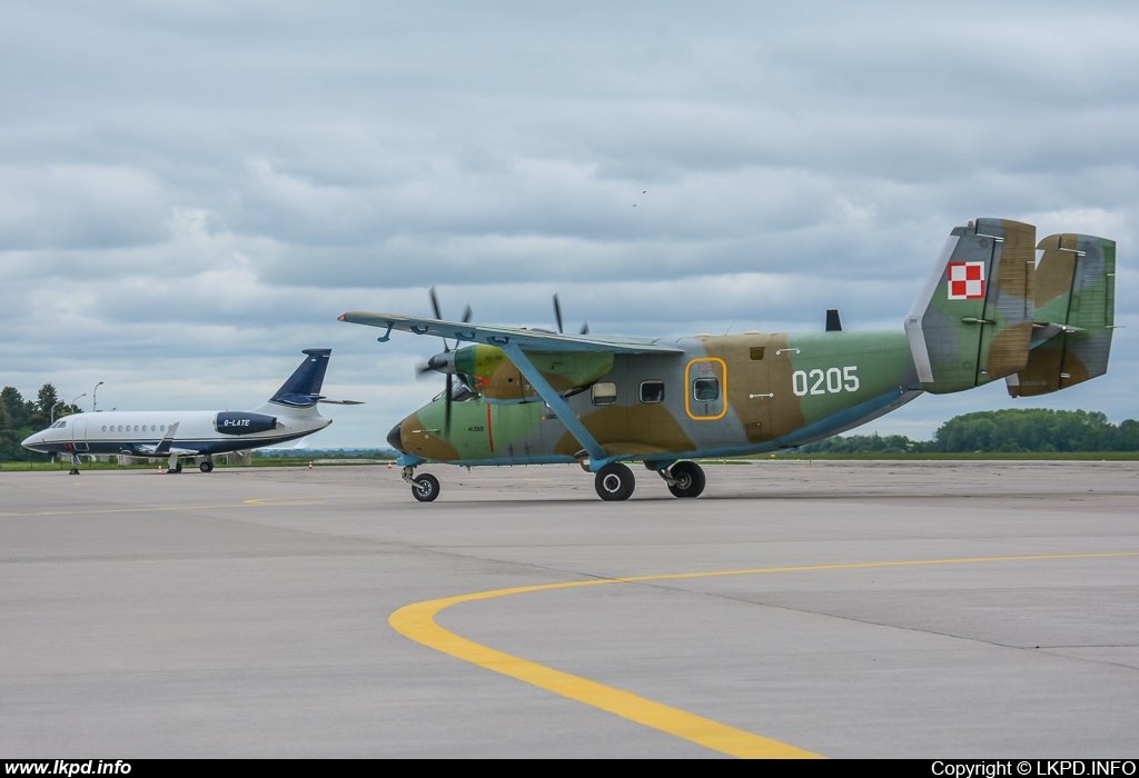 Poland Air Force – PZL - Mielec M-28B1TD Bryza 1TD 0205