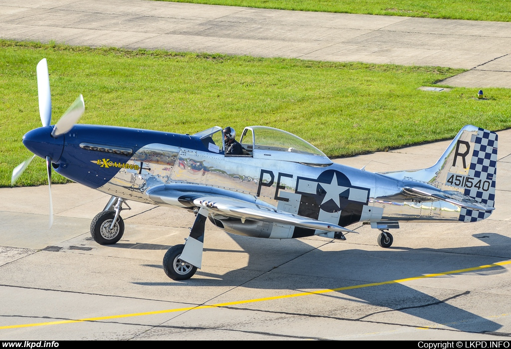 Private/Soukromé – North American P-51D Mustang N151W