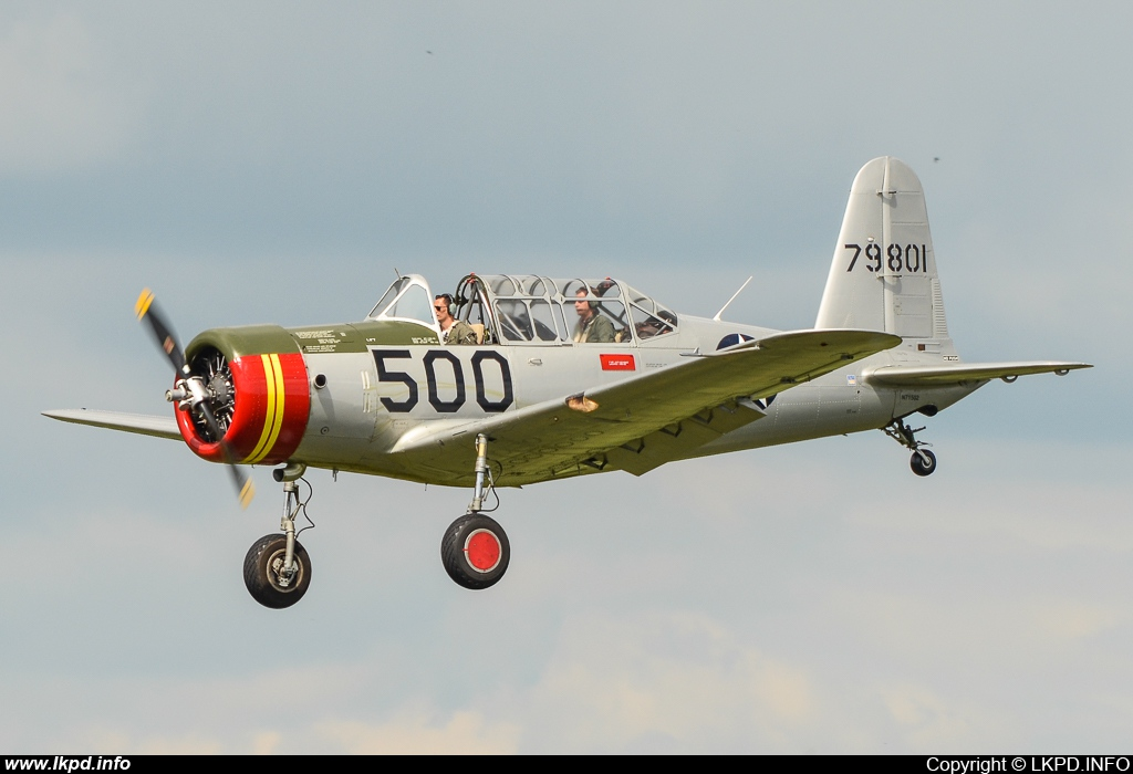 Private/Soukromé – Consolidated BT-18B N71502