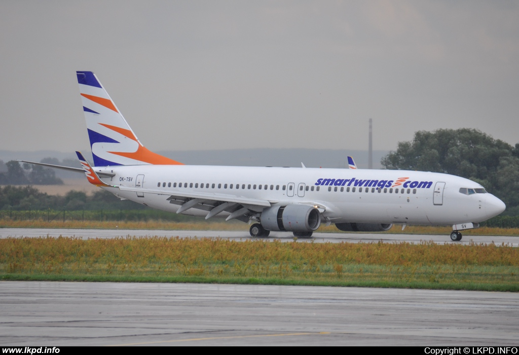 Smart Wings – Boeing B737-809 OK-TSV