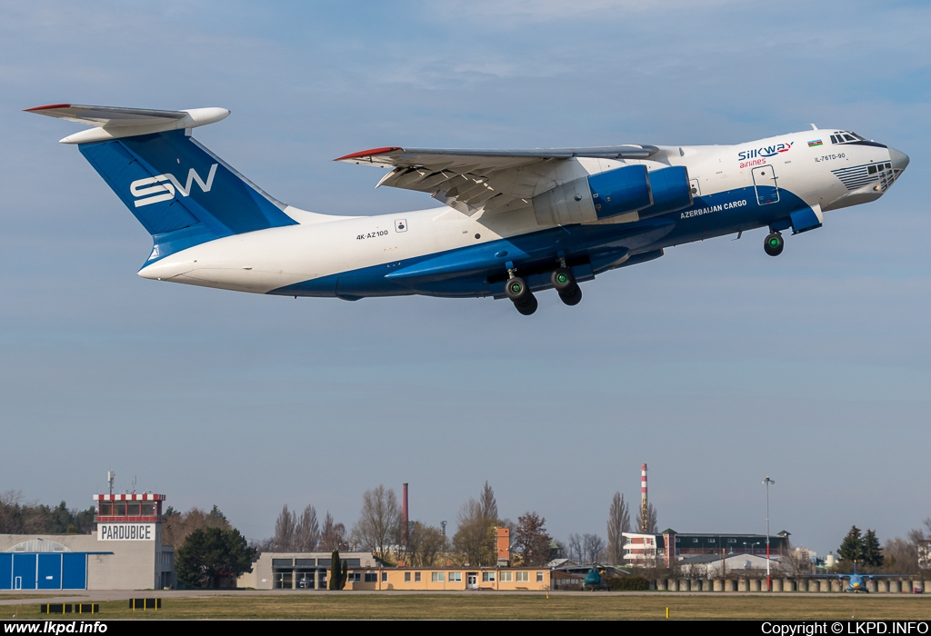 Silk Way Airlines – Iljušin IL-76TD-90SW 4K-AZ100