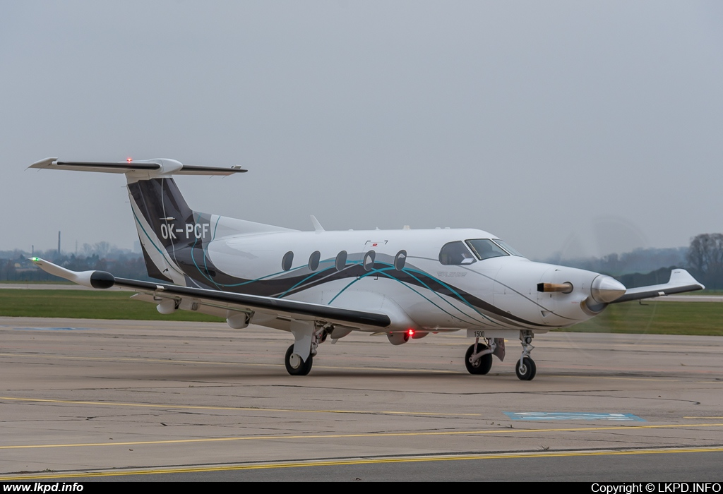 OK Aviation Wings – Pilatus PC-12/47E OK-PCF