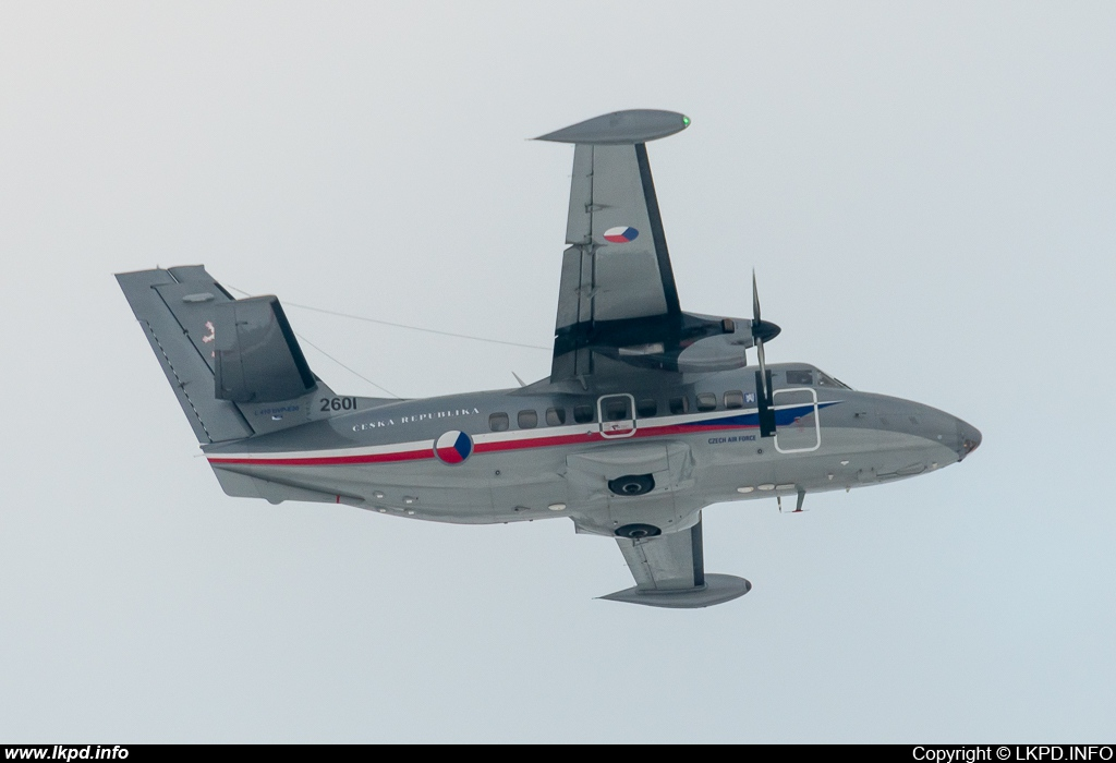 Czech Air Force – Let L410-UVP-E20 2601