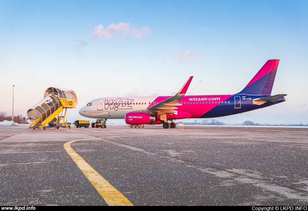 Wizz Air – Airbus A320-232 HA-LSA