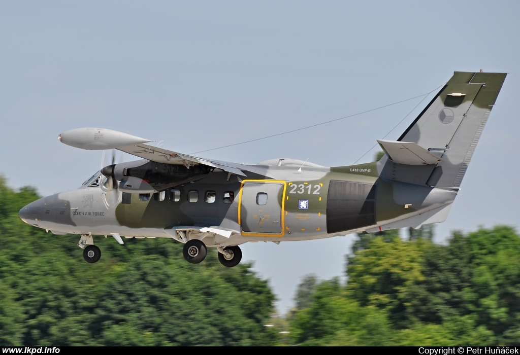 Czech Air Force – Let L410-UVP-E 2312